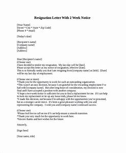 free 8 sample resignation letter templates in pdf ms word