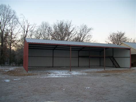Builders Shed by Metal Buildings Stansell Construction