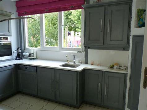 peindre des armoires de cuisine en bois cuisine stéphanie et éléonore déco