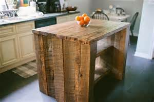 barnwood kitchen island custom reclaimed kitchen island by designs custommade