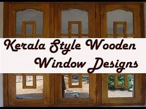 Kerala style Wooden Window Frame Designs - YouTube