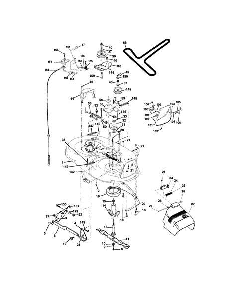 drive belt routing craftsman lt1000
