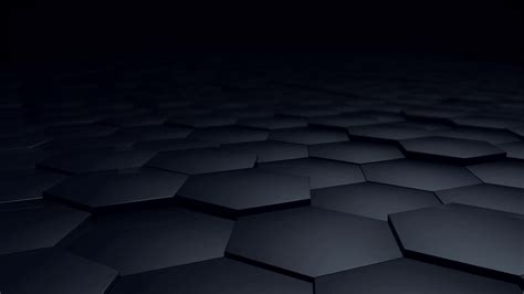 Abstract Black Bg by Digital Hexagon Abstract Background Black Tone Motion