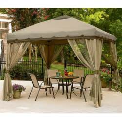 10 x 10 portable gazebo replacement canopy garden winds