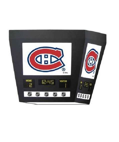 canadiens scoreboard light pro hockey sports