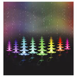 solar powered colour changing christmas tree with lights xmas 48cm ebay