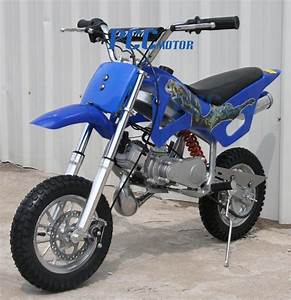 Free Us Shipping Kids 49cc 2 Stroke Gas Motor Dirt Mini Pocket Bike Blue I Db49a