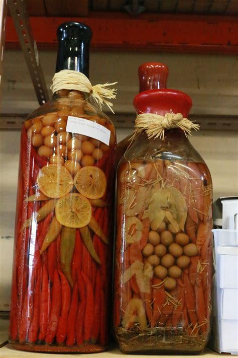 Decorative Kitchen Glass Jars by Three Glass Decorative Kitchen Jars