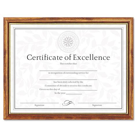dax  tone documentdiploma frame wood