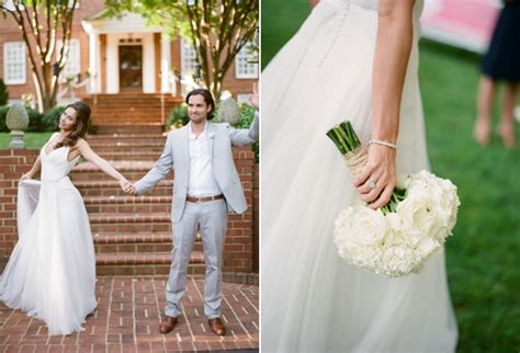 elegant virginia outdoor wedding once wed