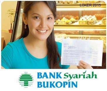 lowongan kerja terbaru bank syariah bukopin maret