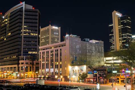 downtown phoenix illuminated