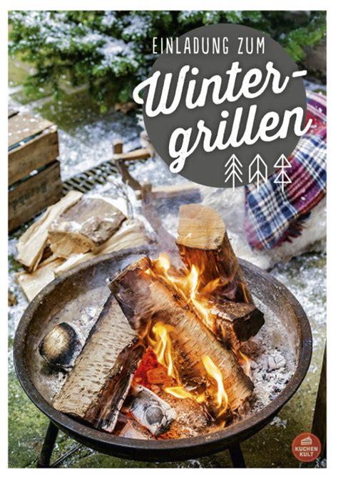 grillen im winter wintergrillen rezepte ideen grillen im winter mit beilagen