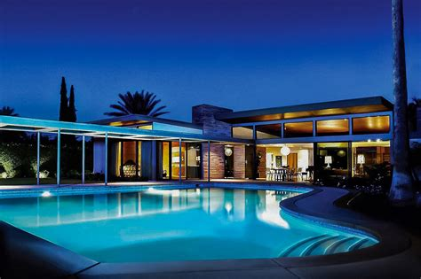blueprints of houses palms sinatra estate luxury retreats