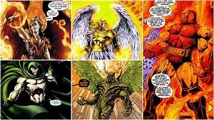 Celestials Vs Darkseid - Battles - Comic Vine