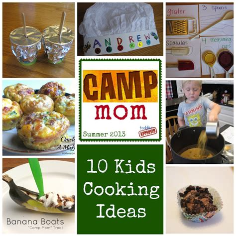 Toddler Approved! 10 Camp Mom Cooking Activities For Kids