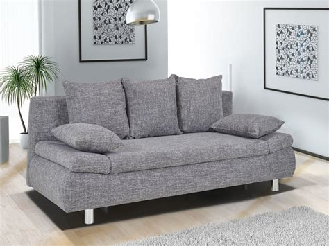 canape gris convertible canapé 3 places convertible coloris gris chiné felton
