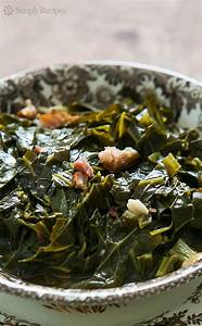 Southern Style Collard Greens ~ Slow cooked collard greens
