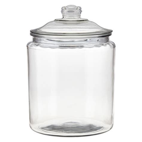 Anchor Hocking Glass Canisters with Glass Lids   The