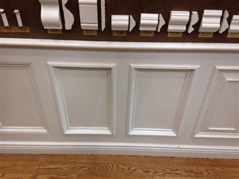 real wainscoting  faux wall frames  chair rail