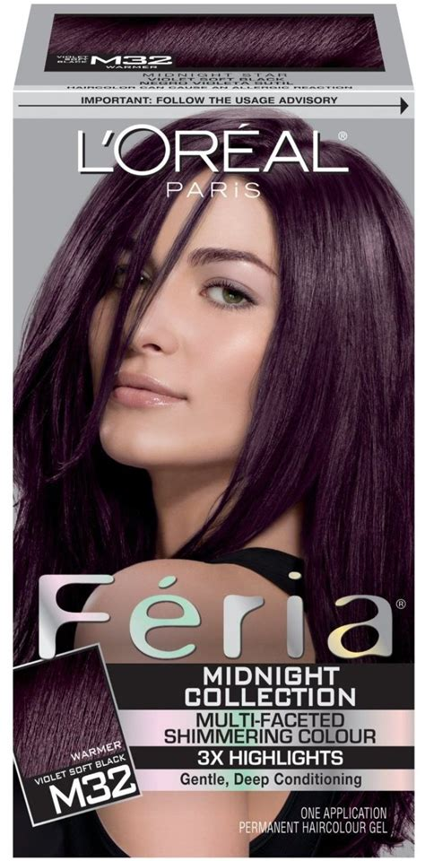 feria hair color purple l oreal feria warmer violet soft black hair style