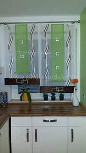 Gardinen Für Küche Esszimmer : deko vorhang in schwarz grau f r die k che ~ Markanthonyermac.com Haus und Dekorationen