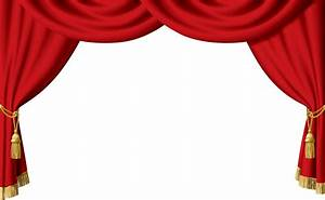 Blue stage curtain for Blue theatre curtains png