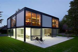 systeme constructif la maison en ossature metallique With prix maison structure metallique