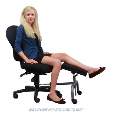 leg rest for desk ergoup 18 quot double leg rest