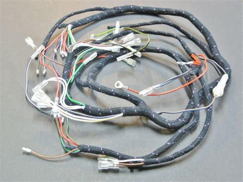 T Wire Harnes by Wiring Harness Wire 1971 72 Triumph T120 Tr6 Bsa A65
