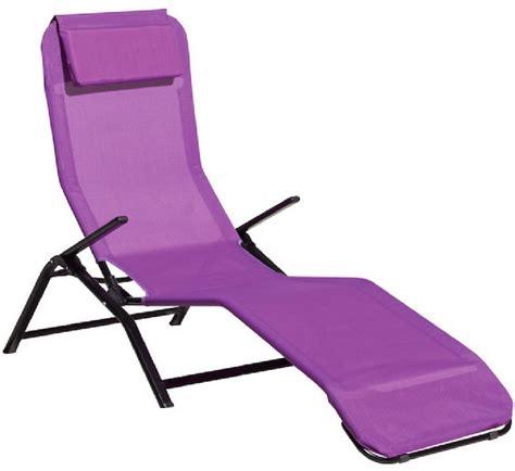 chaise longue pliante lafuma pas cher transat jardin 43 idées pour un bain de soleil ça vous