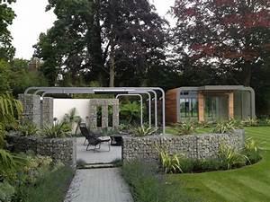Idee Cloture Jardin : mur et cl ture gabion id es pour le jardin en 33 photos ~ Melissatoandfro.com Idées de Décoration