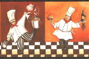 italian chef wallpaper border wt1086b cafe kitchen chef decor