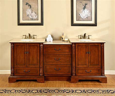 double sink bathroom vanity  middle cabinet