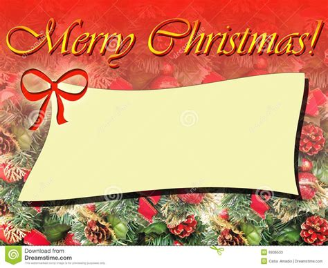 merry christmas frame stock  image