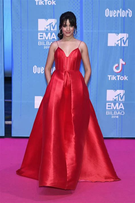 Camila Cabello Mtv Europe Music Awards Bilbao