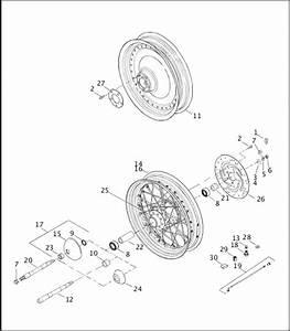 35 Harley Rear Wheel Assembly Diagram