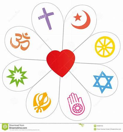 Religion Symbols Religious Symbol Islam Heart Flower