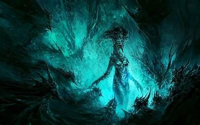 Demon Wallpapers Demonic Creature Dark Water Ice