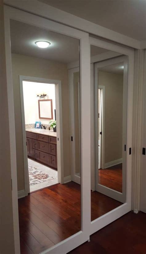 Wardrobe Closet With Mirror Doors by 15 Best Collection Of Mirror Wardrobe Closet Doors