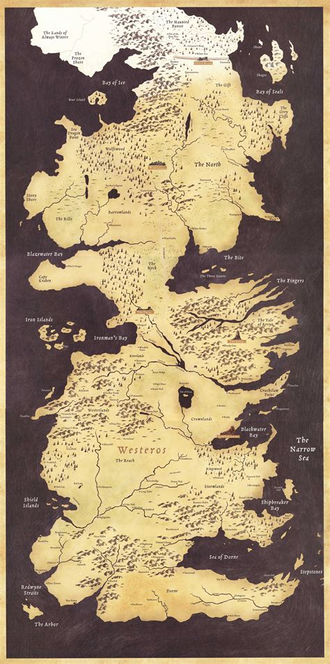 game  thrones fans turn westeros map  incredible