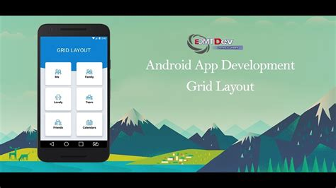 android studio tutorial grid layout  cardview youtube