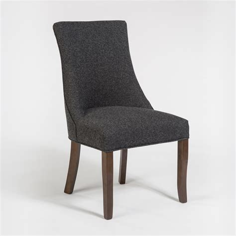 presidio dining chair alder tweed furniture