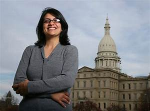 Rashida Tlaib: First Muslim woman to be elected to US ...