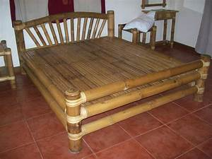 Traditional Bamboo Furniture Buglas Bamboo Institute