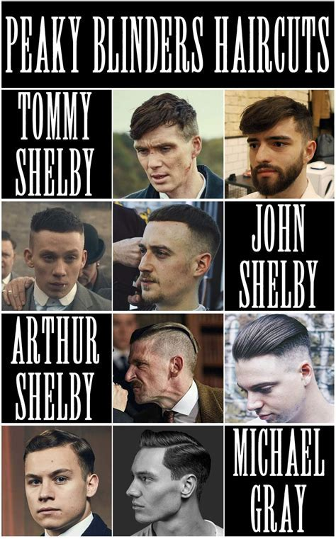 Peaky Blinders Haircuts   Thomas Shelby Hair, Arthur