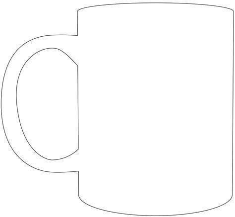 Kleurplaat Koffiebeker by Coffee Mug Silhouette Free Vector Silhouettes