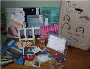 A Time Capsule  Its Contents  A Co