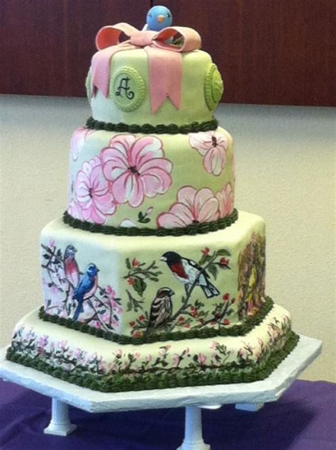 bird watchers birthday cake  craftsy