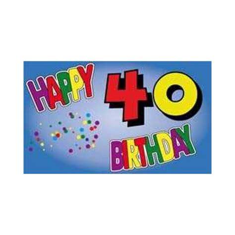 Geburtstag findest du hier zusammengestellt. Geburtstag 40 Jahre Fahne (V13) günstig kaufen